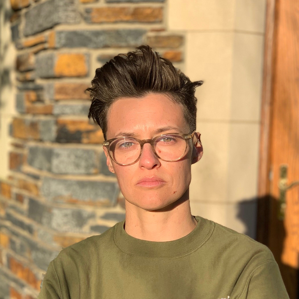 MK Getler non-binary public speaker and change-maker