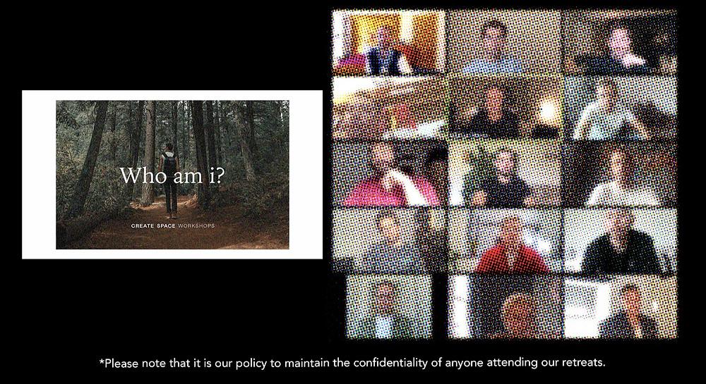'Who am I?' Virtual retreat for gay men