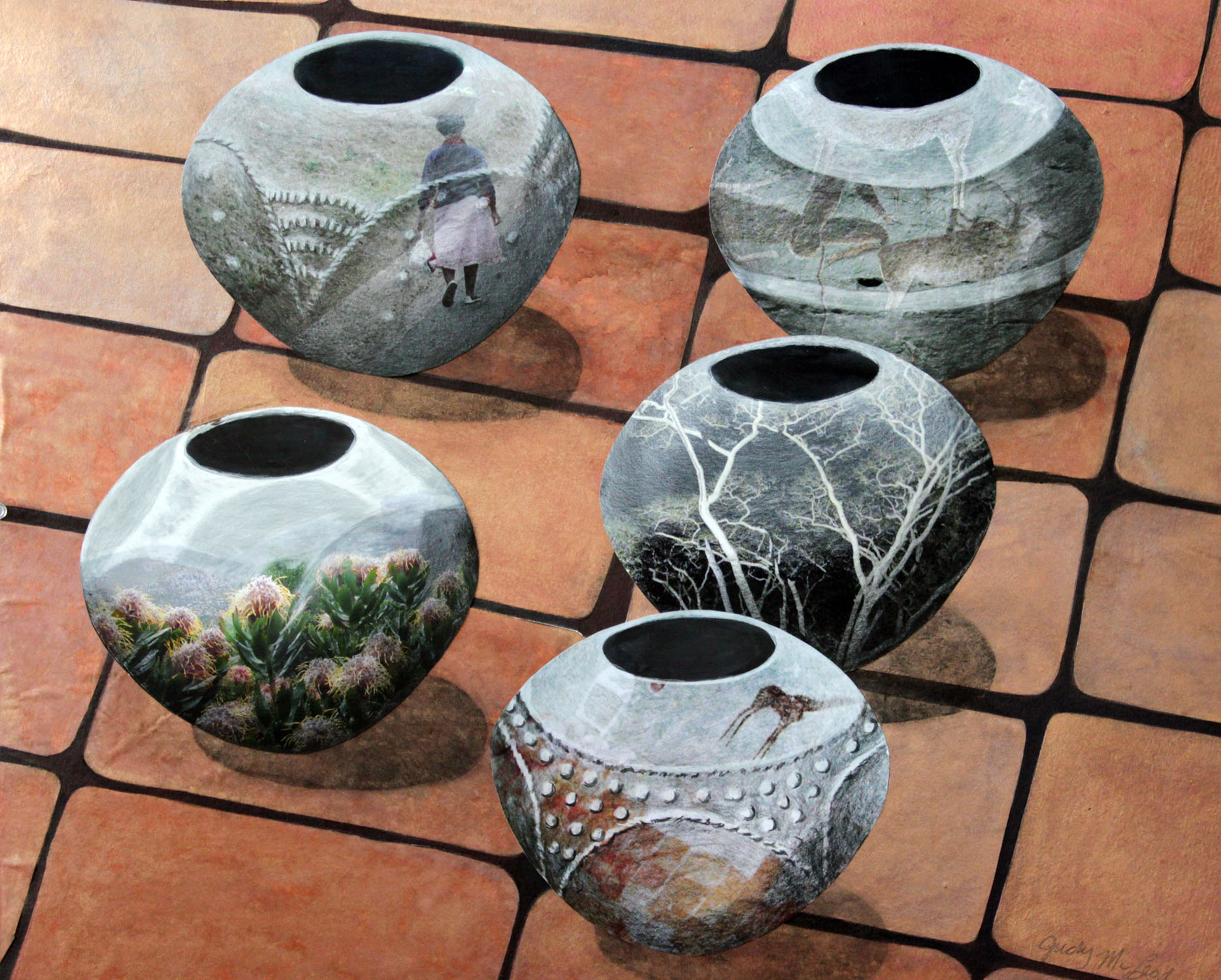 Zulu woman's work