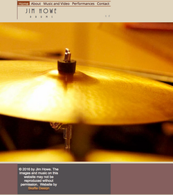Jazz drummer website