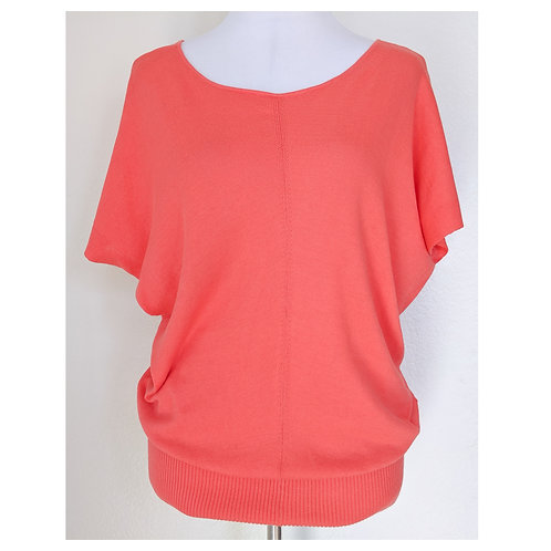 Coral Dolman Sweater Top