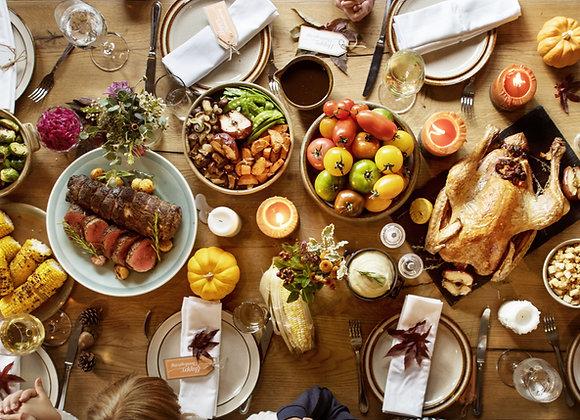 Shuckin Holiday Meal (Ham) 6-12 People