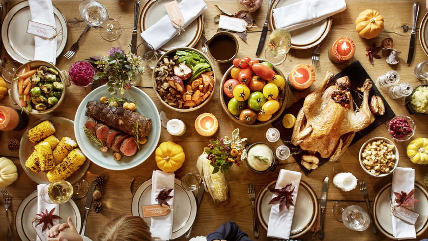 7 Tips for a Bloat-free Thanksgiving