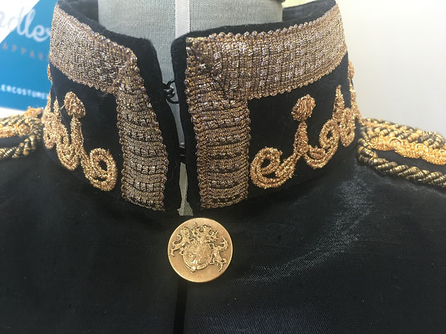 Royal Opera House Military Jacket Collar