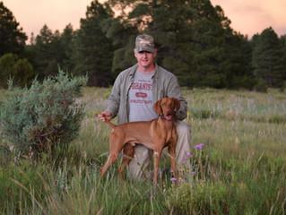 Bo Wins 1st Hunt Trial