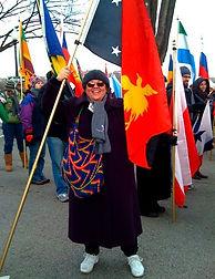 Nancy Chorpenning Peace Corps Obaba Inaugural parade