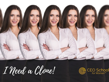 I Need a Clone. How About You?