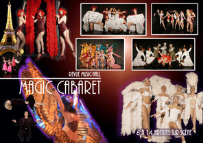 spectacle plumes - spectacle cabaret - dunkerque 59