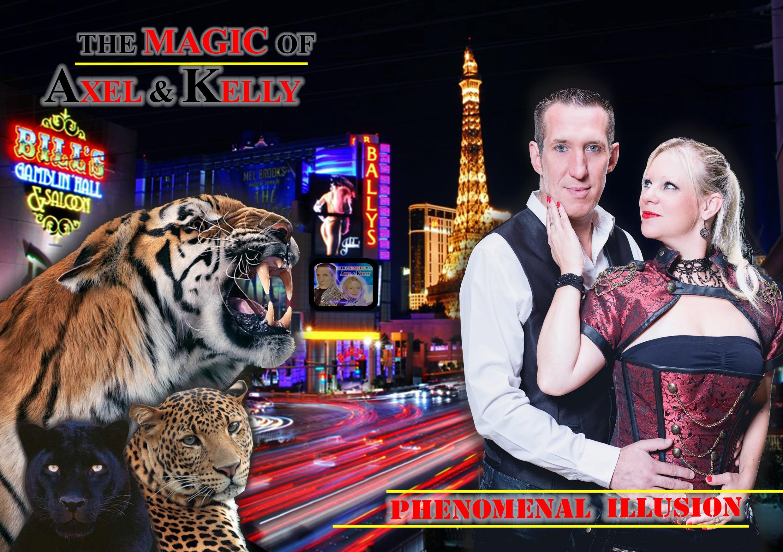 affiche magie las vegas
