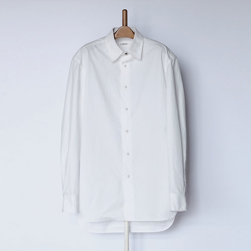 Dropped Shoulder Shirts White