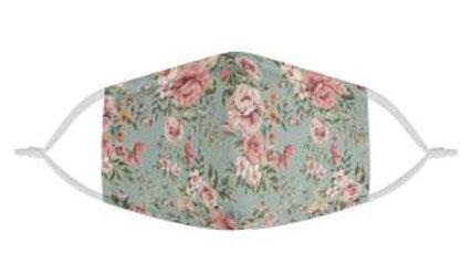 Vintage Floral Love Mask