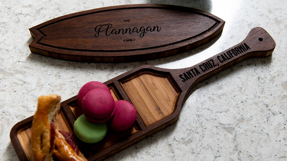 Paddle and Surf Hors d'Oeuvre Trays