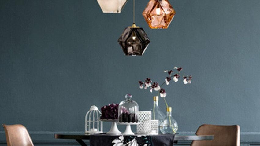 Modern LED Glass Many Sides Pendant Lights Lighting Nordic Retro Industry