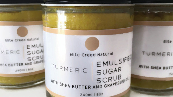 Turmeric Sugar Scrub
