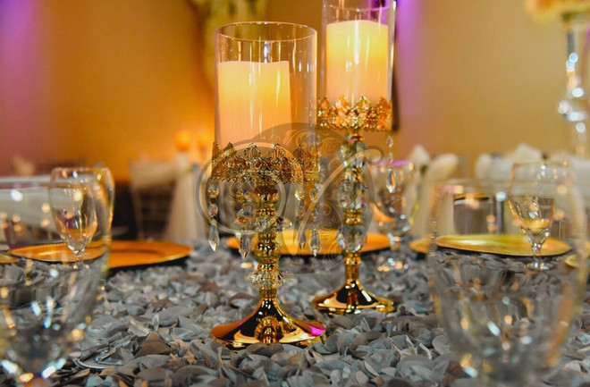 Crystals and Candlelights theme