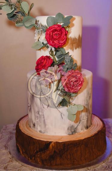 Beautiful Rose themed Cake