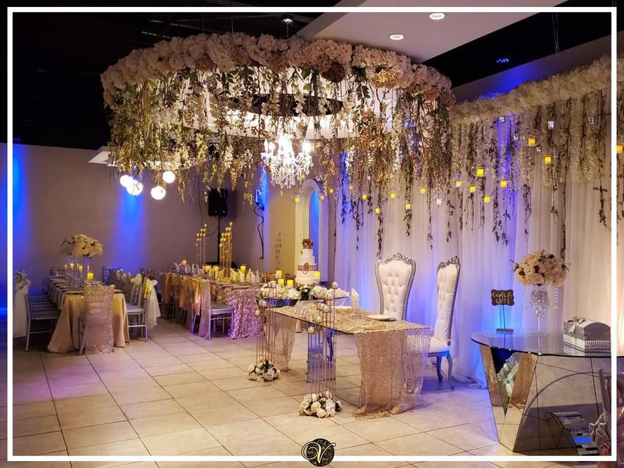 Dancefloor and VIP table