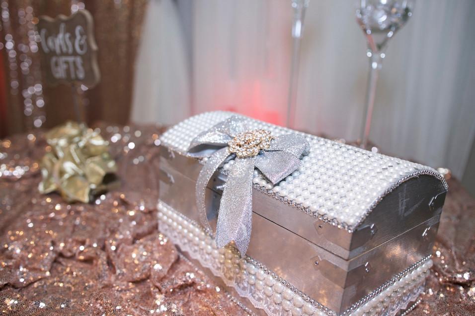 Beautiful Silver Gift Box