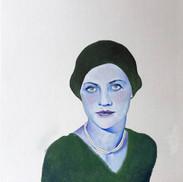 Lee Miller, color study #1