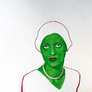 Lee Miller, color study #3