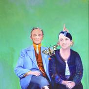 Anne Marie, Robert et le Machaon