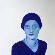 Lee Miller, color study #6