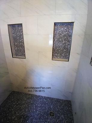 Shower to Steam Shower Conversion