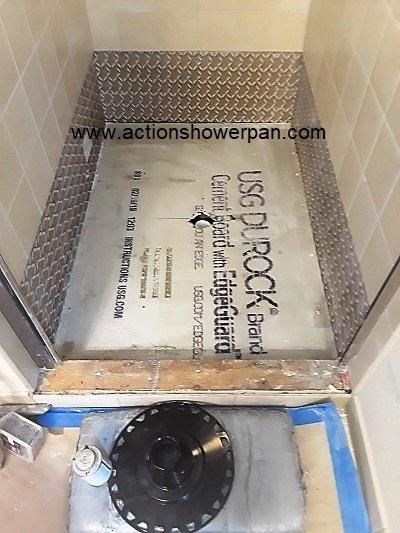 Porcelain Shower Pan #1