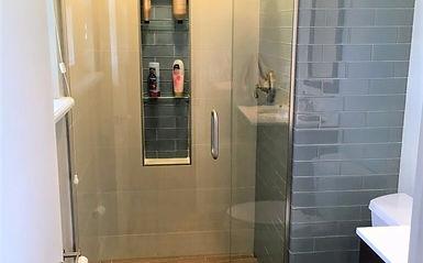 Bathroom RemodelNo Curb ShowerArvadaCOAction Shower PanCom - Bathroom remodel arvada