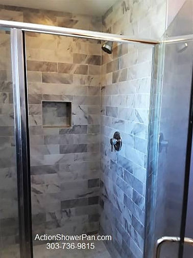 Boulder Tile Installation
