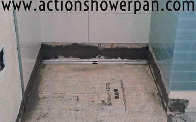 Bathroom RemodelNo Curb ShowerFort CollinsCOAction Shower PanCom - Bathroom remodel fort collins
