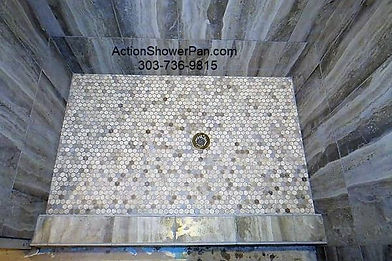 Porcelain Shower Pan