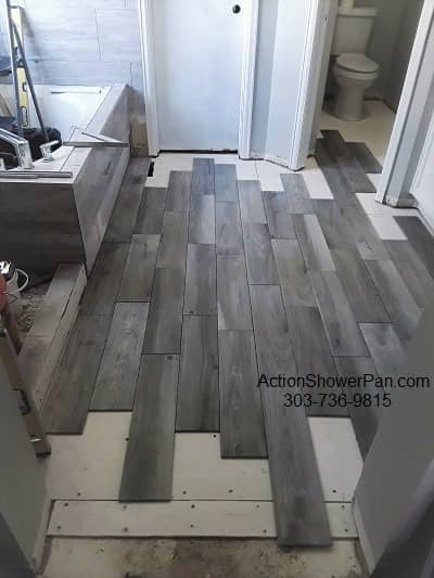 Westminster Floor Tile Installation