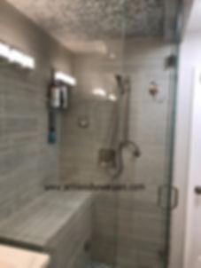 Shower Pan,Tile Installation