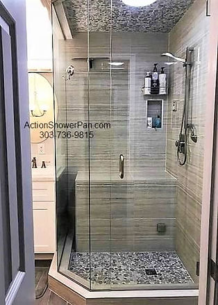 Steam Shower Installation Centennial, CO