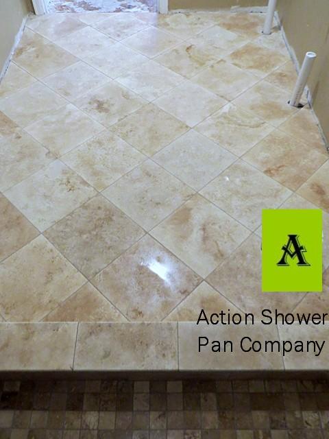Castle Rock Floor Tile Installation