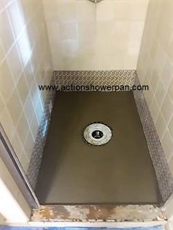 Porcelain Shower Pan #2