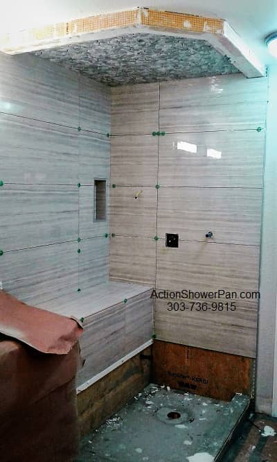 Golden Shower Tile Installer