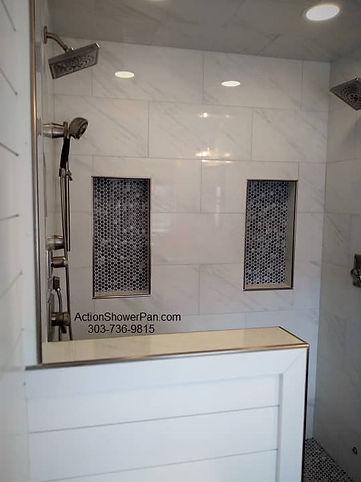 Denver Shower to Steam Shower Conversion