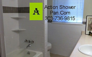 Tile Installer LakewoodCOCustom Tile InstallersAction Shower Pan - Bathroom remodeling lakewood