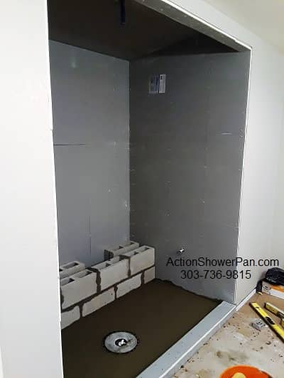 Denver Shower Pan Installation