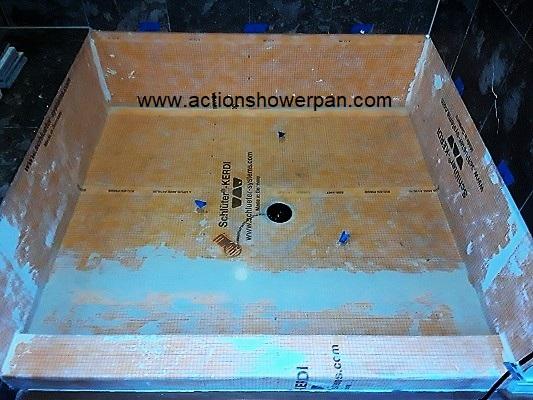 Marble Shower Pan Repair #3