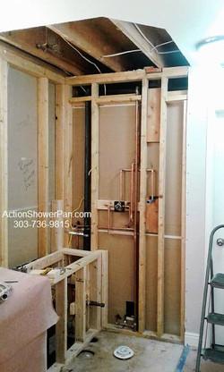 Thornton Steam Shower Installation