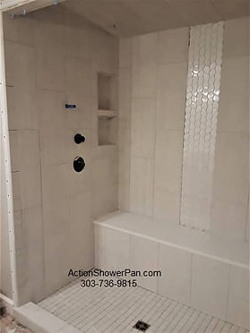 Steam Shower Before Grout