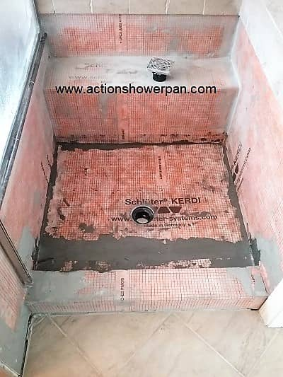 Denver Schluter-Kerdi shower pan