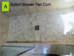 Travertine Shower Pan #3