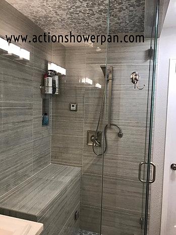 Steam Shower Custom Built