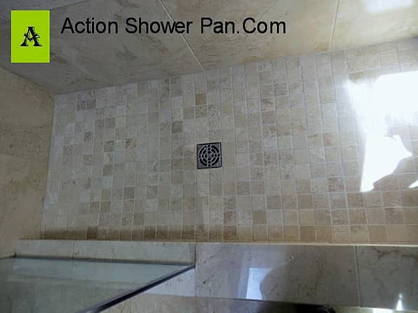 Denver Marble Tile Shower Pan
