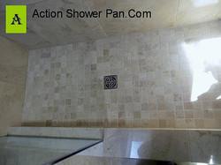 Denver Marble Tile Shower Pan