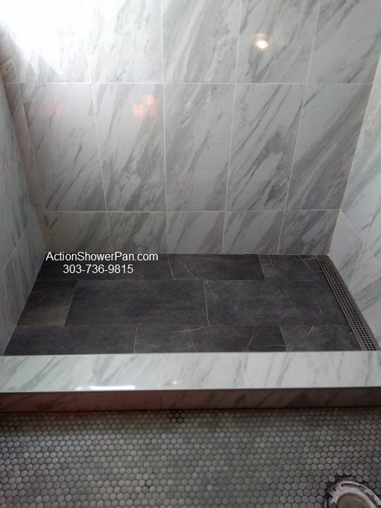 Tiled Shower Pan